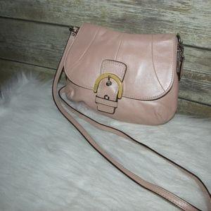 a5a107c0c ... ireland coach bags coach mini soho buckle flap pale pink crossbody  50ff7 b014a